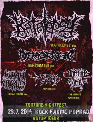 torturenightfest plagát