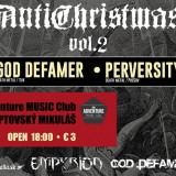 Koncert – AntiChristmas vol.2, 20. december 2014, The Adventure MUSIC Club, Liptovský Mikuláš