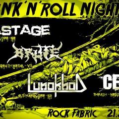 DRUNK ´N´ ROLL NIGHT vol. 3, 21. február 2015, Rock Fabric, Poprad