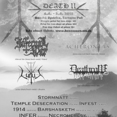 Koncert – BLACK CANDLES OF DEATH II. – 04.04 a 05.04.2015, Bánska Bystrica, Tirish Pub