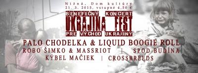 benefičný koncert ukrajina fest