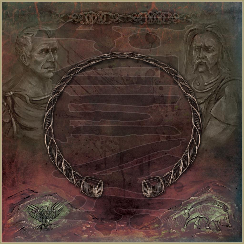 CATUVOLCUS - Gergovia (2012) Album & Booklet art