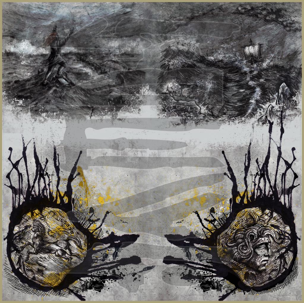 CATUVOLCUS - Voyageurs de l'Aube (2013) Album & Booklet art