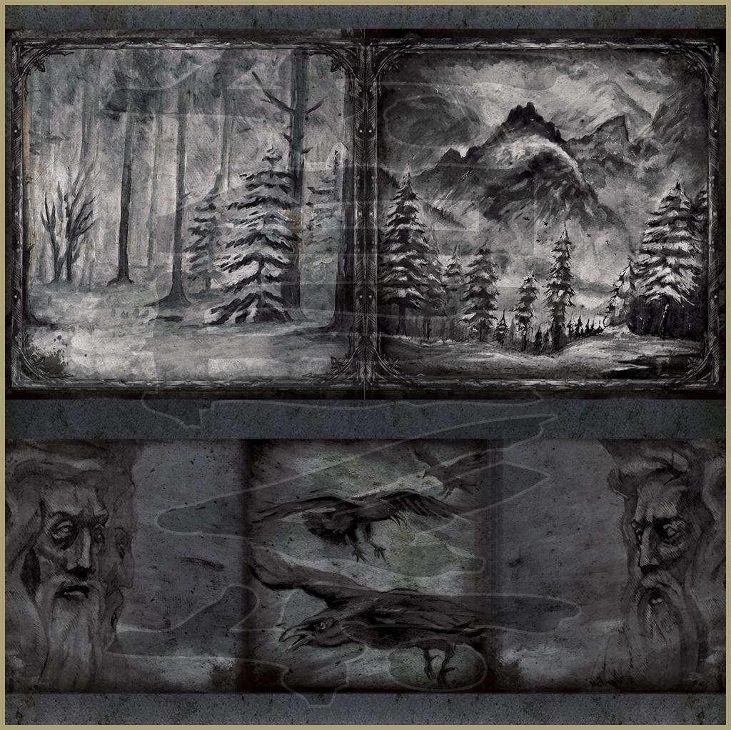 EINSAMTOD - Einsamtod (2012) Album & Booklet art