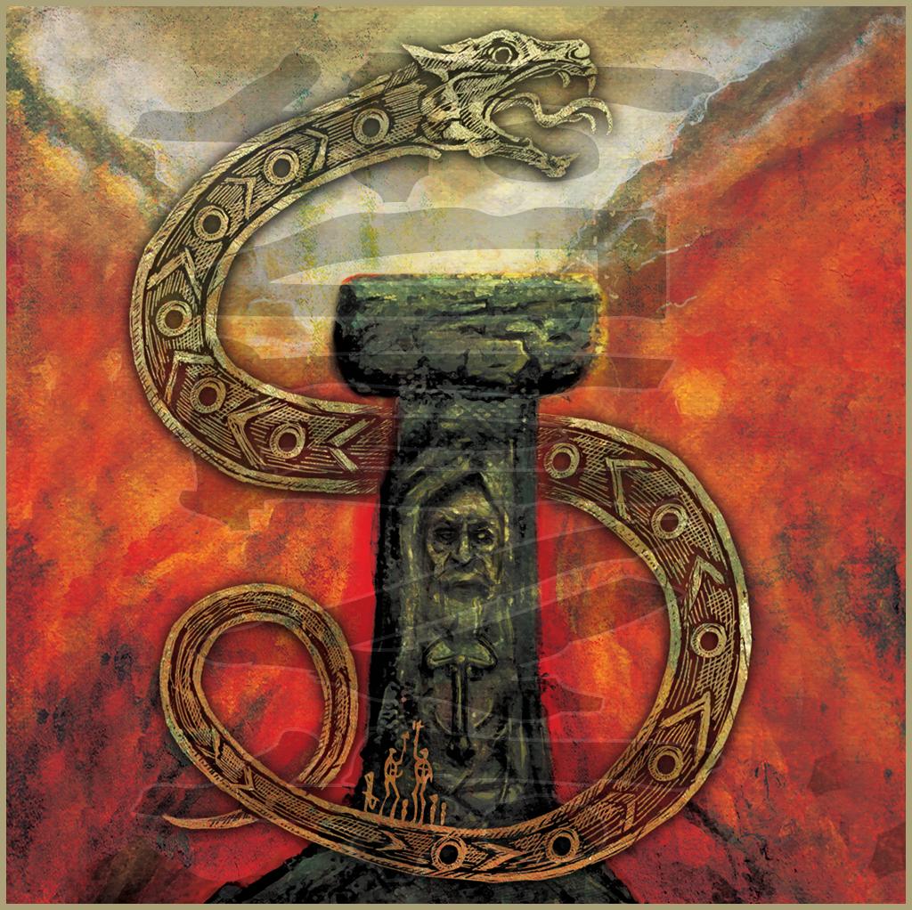 IRMINSUL - Fäder (2013) Album art