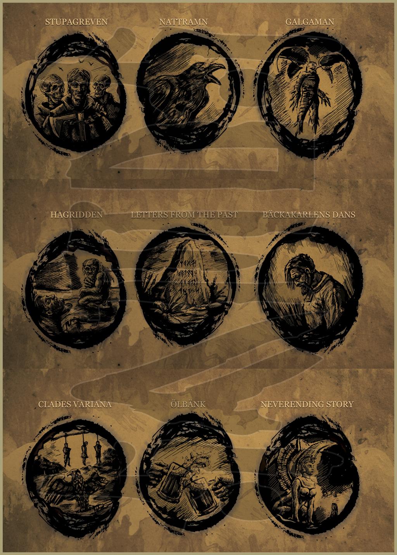 IRMINSUL - Fäder (2013) Booklet art