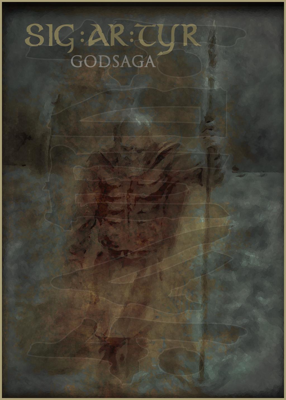 SIG AR TYR - Godsaga (2010) Album art
