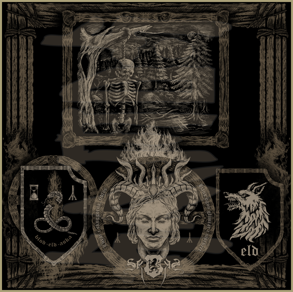 SKOGEN - Eld (2012) Album & Booklet art