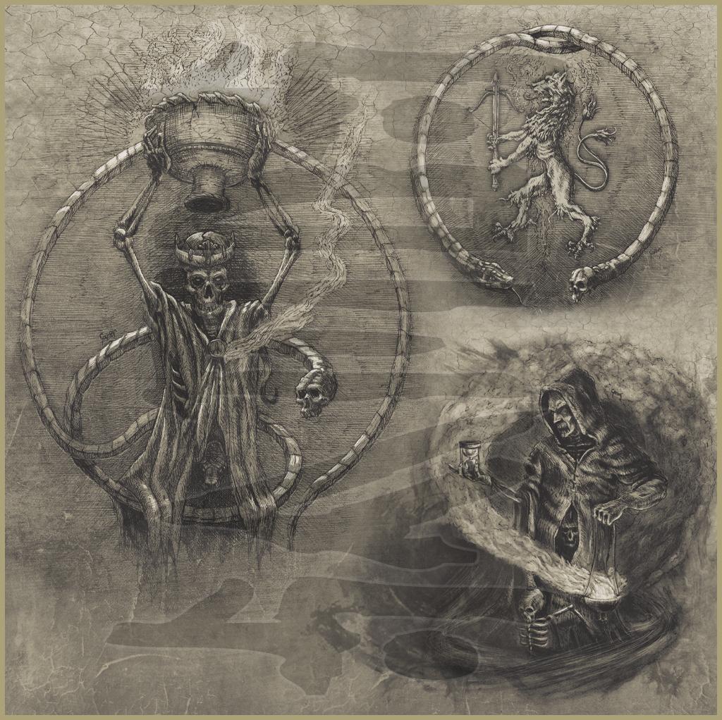 SKOGEN - I Döden (2014 & 2015) Album art