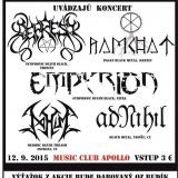 Koncert – Budík, 12. september 2015, Apollo Music Club, Považská Bystrica