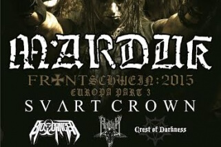 Koncert –  MARDUK, SVART CROWN + supports, 9. október 2015, Bar-rock-o, Třinec