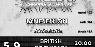 PLAY IT LOUD 11 / ČESKÁ PROG THRASH METAL LEGENDA ASMODEUS PRVÝ KRÁT NA SLOVENSKU + JANESESSION A DAGGEROSE (Bratislava – British Rock Stars)