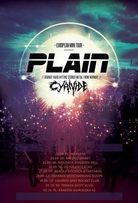 plain tour plakát