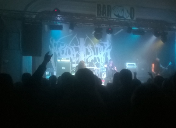 Report – MARDUK, SVART CROWN + supports, 9. október 2015, Bar-Rock-o, Třinec