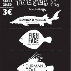 Koncert – UNDER THE SEA I. (Edmond Wells, Fishface, Durman Doll) – 21. november 2015, Artklub, Trnava