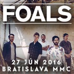 FOALS odohrajú sólový koncert v Bratislave!