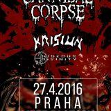 Cannibal Corpse (USA), Krisiun (BRA), Hideous Divinity  v Prahe!