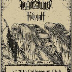 THY ART IS MURDER, FALLUJAH, 5. júl 2016, Collosseum Club, Košice