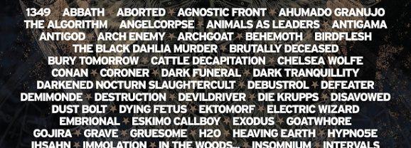 Kompletný program festivalu Brutal Assault!