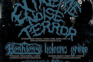 Extreme Noise Terror navštívi Prahu aj Bratislavu!