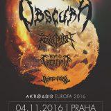 Technický death metal v de luxe zostave v Košiciach aj v Prahe