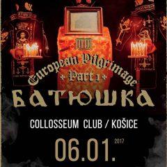 REPORT – Batushka, Darktimes – 6. 1. 2017 – Košice, Colloseum