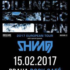 The Dillinger Escape Plan a Shining (NOR) nakoniec vystúpia v pražskej Lucerne!