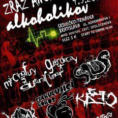 """""""Zraz anonymných alkoholikov"""" alebo grindcore veselica v Bratislave!"""