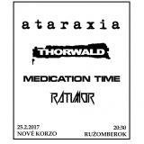 Ataraxia pokrstí album na domácej pôde!