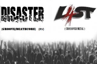 Koncert kapiel L4ST a DISASTER v Prešove