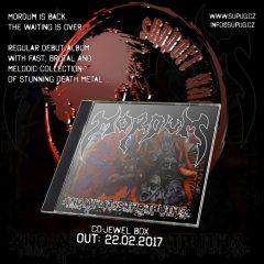 Ďalšia slovenská death metalová kapela v stajni Support Underground! Pripravte sa na nový MorduM!