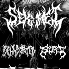Black/deathová paľba v Komárne za účasti Sekhmet, Dehydrated a Surt!!!
