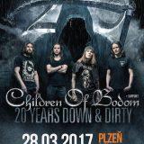 Children of Bodom si zahrajú v Plzni!