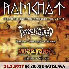 Ramchat – Froozen Blood – Minuliruiny v British Rock Stars