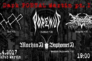 Black metalové inferno v Martine!!!