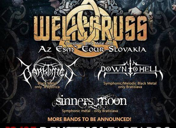 Welicoruss na dvoch koncertoch na Slovensku!!!