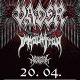 Death metalové legendy IMMOLATION a VADER v Košiciach!