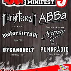 Tradičný Hugáň UG Minifest v piatok v Brezne!!!