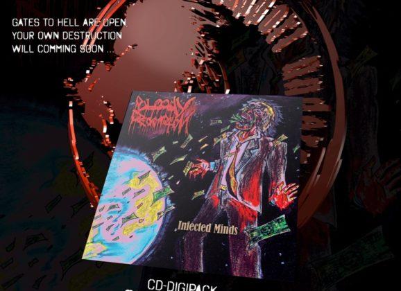 """Bloody Redemption vyšiel debutový album –  """"Infected Minds"""""""