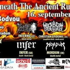 Pod hradom v Turni nad Bodvou sa bude v septembri ozývať metal!