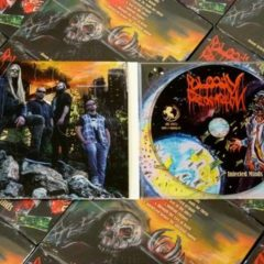 Bloody Redemption – Infected Minds – Support Underground, 2017