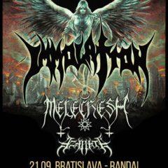 Report – Immolation – Melechesh – Azarath – Sincarnate – Bratislava – Randal Music Club – 21.09.2017