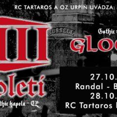 Report – XIII. Století, Gloom – 27. 10. 2017, Bratislava, Randal Club