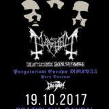 """Mayhem prídu do Bratislavy odohrať kultový """"De Mysteriis Dom Sathanas"""""""
