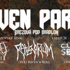 Raven Party v Brezovej pod Bradlom už zajtra!
