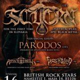 Scuorn / Párodos / Down to Hell / Frozen Blood deň pred sviatkom v Bratislave