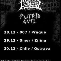 Nuclear Holocaust a Putrid Evil na decembrovom turné po Česku a Slovensku