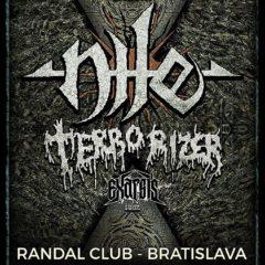 Nile, Terrorizer a spol. o dva týždne v Bratislave!!!