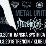 Report – Metal United Tour – 10. 3. 2018, Klub Lúč, Trenčín
