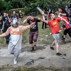 Report (deň prvý)- FLESH PARTY OPEN AIR FEST 2015, 19.-20. jún 2015, Camping Sereď